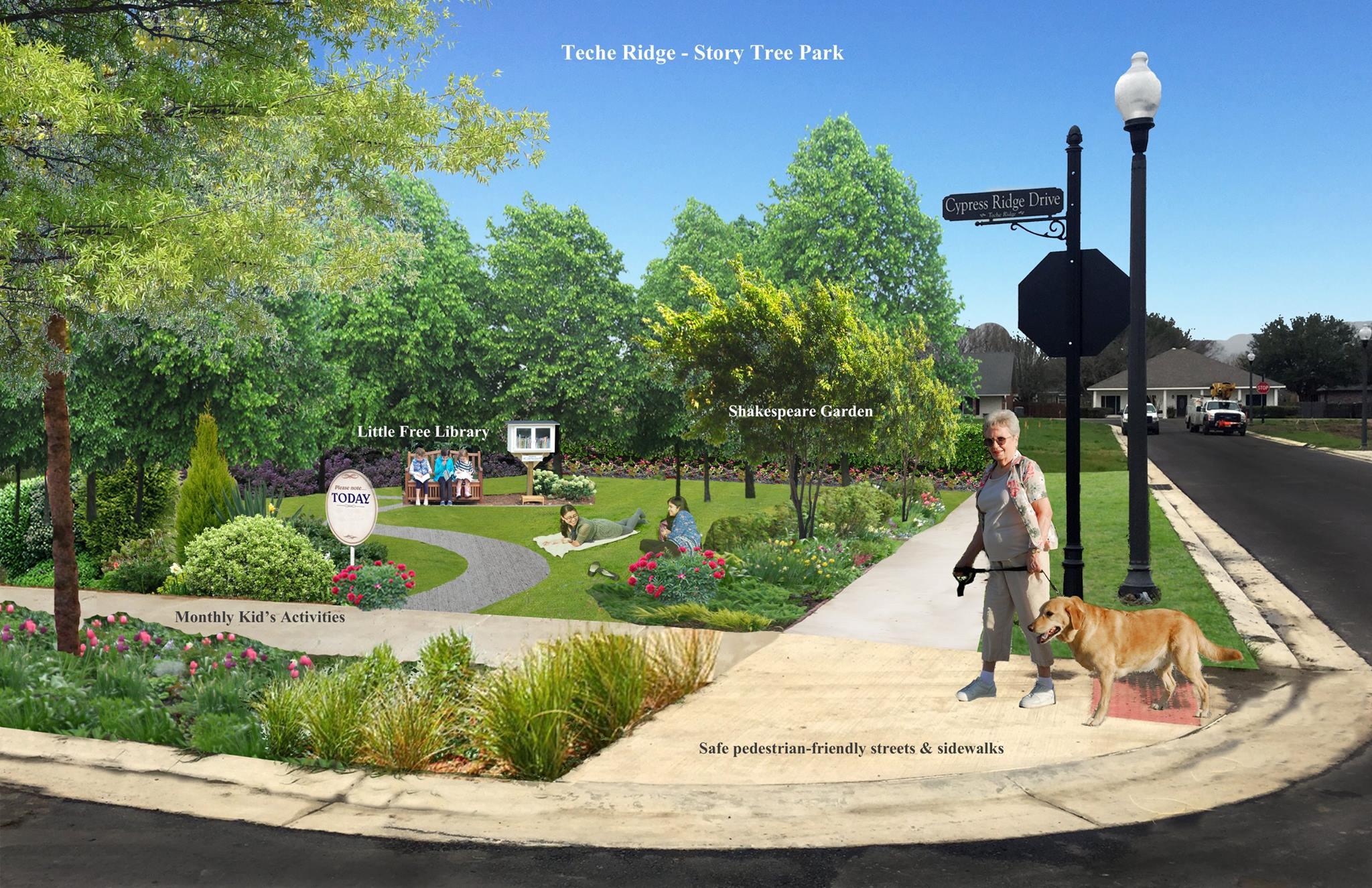 PARKS & GREENSPACES – Teche Ridge on community work space, community park space, home space, garage space, art gallery space, living room space, community pool, community diy space, cricut design space,