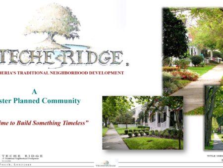 About Teche Ridge