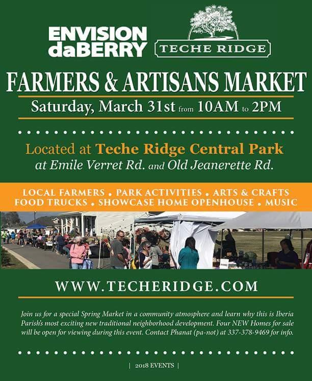 DaBerry Market at Teche Ridge
