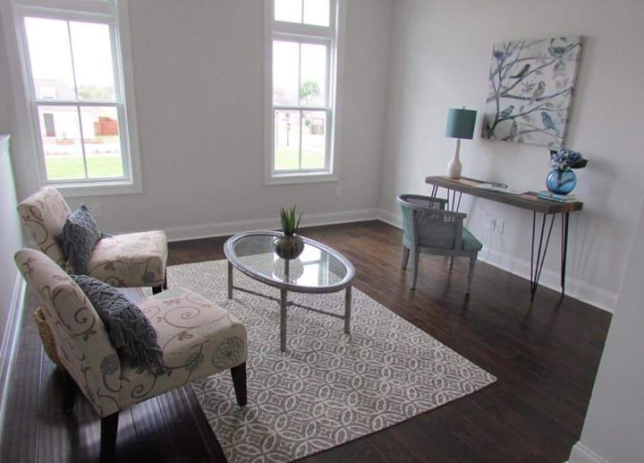 What a view! This upstairs Loft overlooks the beautiful stairway and has an awes…
