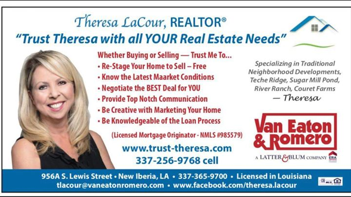 Teche Ridge is not just another neighborhood, come see Theresa LaCour, Realtor-V…