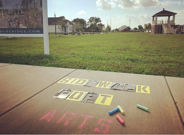 Need a creative challenge this summer? Calling all sidewalk poets to Teche Ridge…