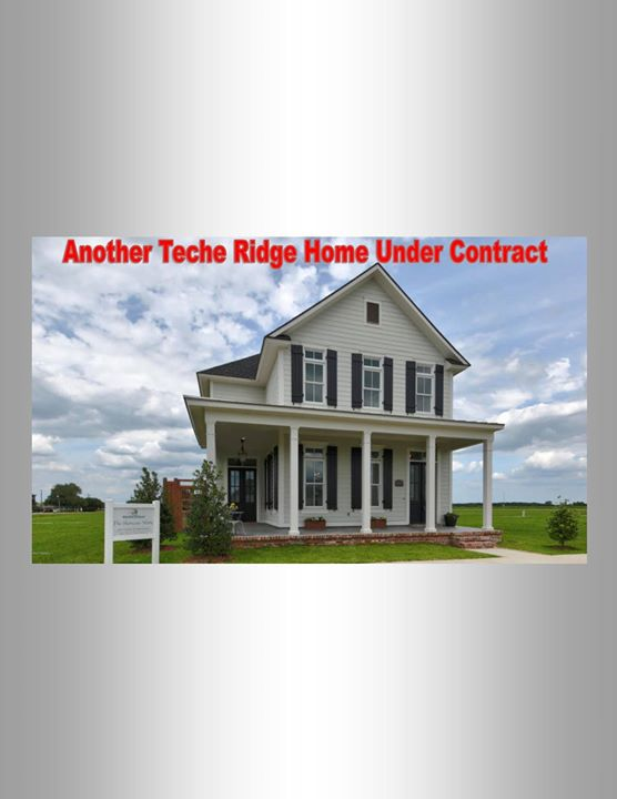CONTRACT!Another home in Teche Ridge is Under Contract!  Love this house, w…