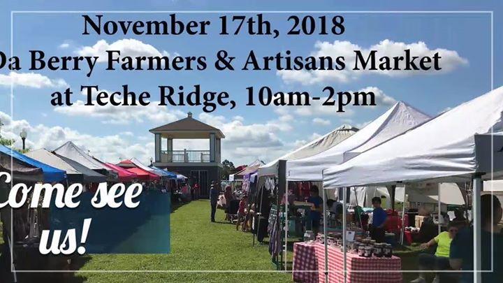 DaBerry Farmers Market at Teche Ridge