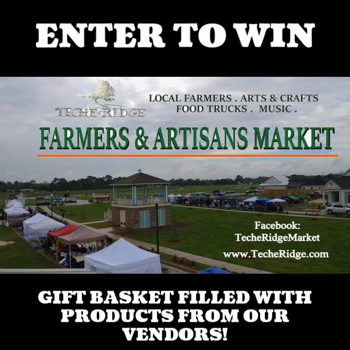 Tomorrow is the day! Come out to the Teche Ridge Farmers & Artisans Market in Ne…