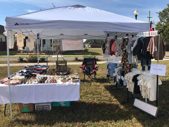 Happening now at DaBerry Farmers Market at Teche Ridge.  Also come and see the B…