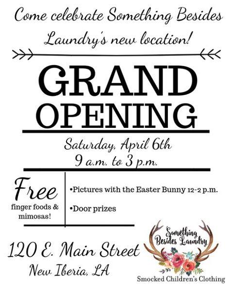 Another new business in New Iberia!PLEASE WELCOME a NEW downtown business at 120…