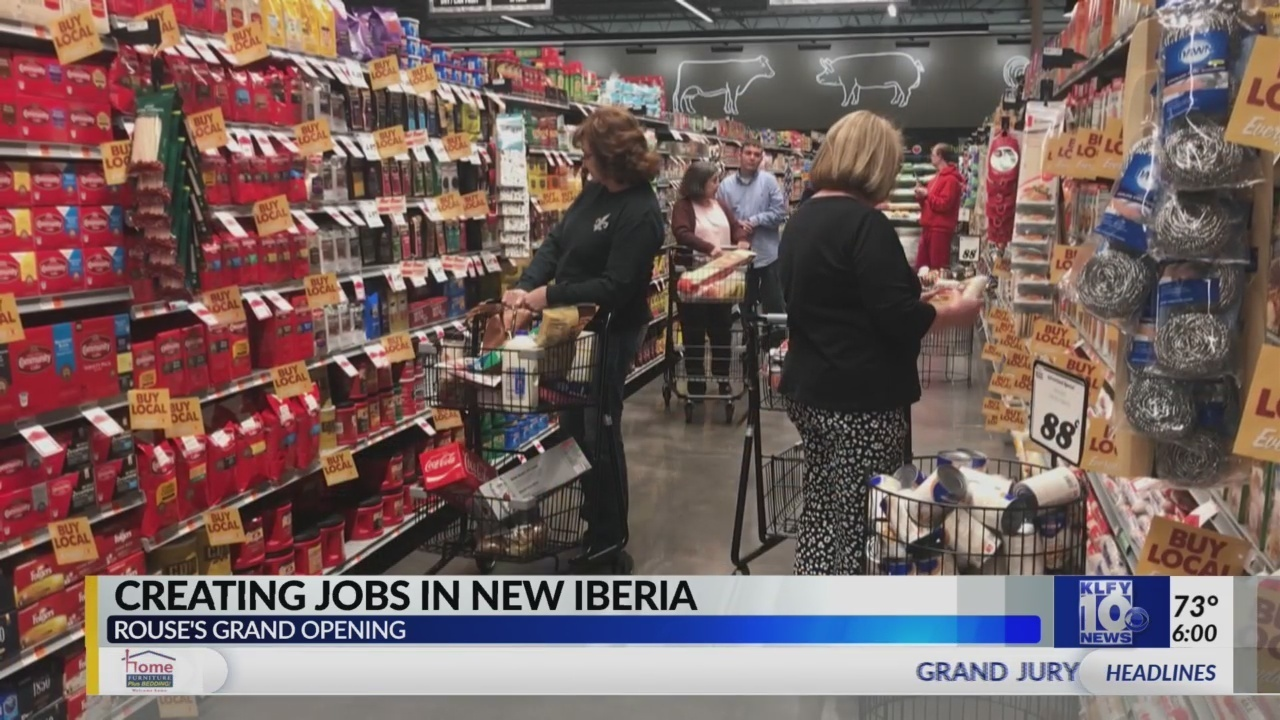 Rouses celebrated its grand opening in New Iberia, brings 150+ jobs to the city