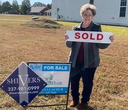 Another lot sold!