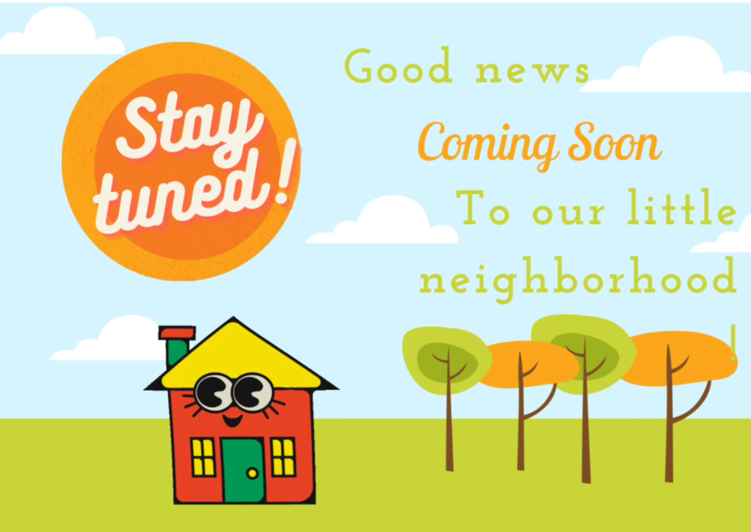 Good news coming soon!